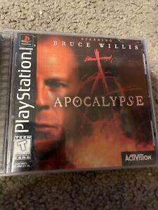Apocalypse Sony PlayStation 1 PS1 Complete in Box CIB