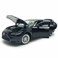 1:32 Lexus ES300H 2018 Model Car Diecast Toy Vehicle Sound & Light Black Kids
