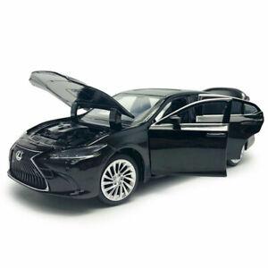 1:32 Lexus ES300H 2018 Model Car Diecast Toy Vehicle Sound & Light Black Kids