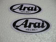 2x Pegatina Sticker búsqueda automática Arai Helmet Racing Motorsport Biker moto