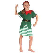 Déguisements costumes verts noël pour fille