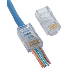 EZ RJ45 Crimp Lan Network Connectors for CAT/5/5e UTP Pack of 100