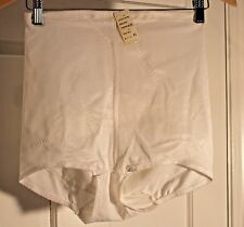 New/Old Vintage Bestform Tall Brief Panty Shaper White 5273 Size Xl 31-32 w/ Tag