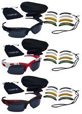 CHEX Europa Running Sportsglasses Sunglasses 5 Interchangeable Lenses Hard Case