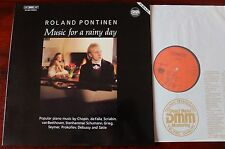 ROLAND PONTINEN MUSIC FOR A RAINY DAY PIANO LP BIS LP-300 DIG NM- GERMANY