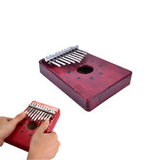 10 Keys Kalimba Mbira Thumb Piano Traditional Musical Instrument Accompaniment R