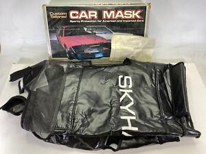 RARE Vintage Covercraft M123 123 Car Mask Bra for 1984-86 Buick Skyhawk NOS