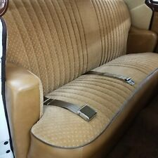 2 Point Tan Lap Seat Belt Standard Buckle 2pt GM Ford Chevy Mopar gto mg jeep V6
