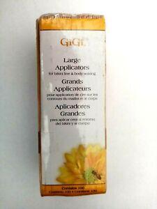 GiGi Large wooden Wax applicator's/Spatula's Brand New. For Bikini line and Body