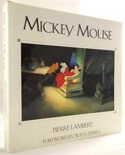 Mickey Mouse by Pierre Lambert HC w/DJ- High Grade