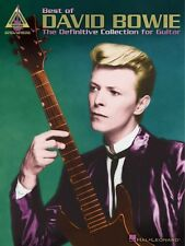 Best of David Bowie Sheet Music The Definitive Collection for Guitar G 000690491