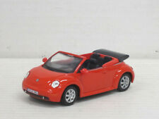 VW New Beetle Cabrio in rot, ohne OVP, Hongwell/Cararama, 1:43