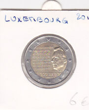 Pièces 2 euro -2013  luxembourg - hymne nationnal