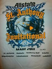 2011 St Anthony Invitational ALLSTATE BASKETBALL MAUI HAWAII T-Shirt Men L RARE