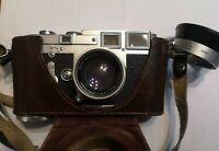 Leica M3 first batch camera 1954 double stroke summicron 5cm leitz wetzlar