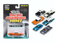 MINT RELEASE 2017 SET B SET OF 6 CARS 1/64 DIECAST BY RACING CHAMPIONS RC003B