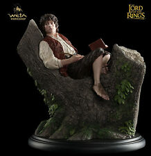 "Lord of the Rings Weta Workshop ""Frodo in Tree"" Statue Baggins Figure Pipe"