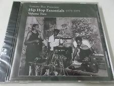 TOMMY BOY PRESENTS HIP HOP ESSENTIALS 1979-1991 VOLUME TWO - 2005 CD ALBUM - NEU