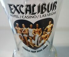EXCALIBUR CASINO LAS VEGAS THUNDER FROM DOWN UNDER GLASS GREAT FOR COLLECTION!