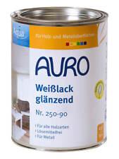 Auro Buntlack und Weißlack glänzend 2,5 l Weiß, Aqua