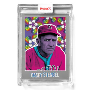 Topps Project 70 Card 376 - 1970 Casey Stengel by Ron English -Presale-