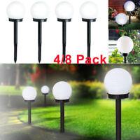 8x Lampade LED Solari da Giardino Esterno All'aperto Solare Paesaggio Prato Luce