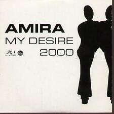 AMIRA My Desire CD UK Virgin 2000 1 Track Dreemhouse Remix Radio Edit Promo In