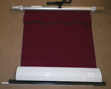 "DOMETIC Elite Window Awning Red Crimson White 33"" Fabric Camper A7"