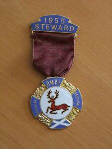 Royal Masonic Benevolent Inst - Steward's Jewel 1955 RMBI
