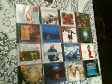 CHRISTMAS CD Lot of (16) Holiday Taylor Sinatra Streisand Connick Carey Denver