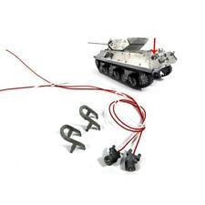 Metal Rear Lights W/ Guards for Rc 1/16 Mato M10 Tank Destroyer Diy Model Mt224