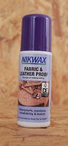 Nikwax Fabric & Leather Proof waterproofing Sponge On 125ml