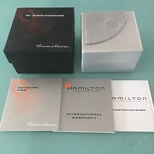 Mint Genuine HAMILTON VENTURA Special Anniversary Mens Women Empty Watch Box