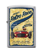 Zippo 207 RETRO RACING vintage 100% guaranteed winner poster RARE Lighter