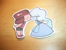 *NEW* Cute *Steven Universe* Ruby And Sapphire Kissing Sticker