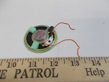 Vintage Motorola Minitor Iii Iv Speaker w leads & Mounting Clip Pager
