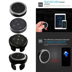Car Media Steering Wheel Remote Control Smartphone Control Music Streaming,