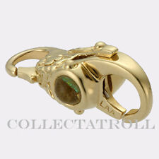 Authentic Troll Bead 18kt  Gold Mexico Lock Trollbeads 20108