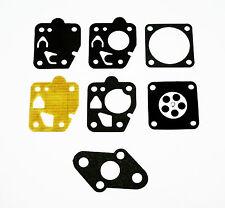 TK Carb Diaphragm Gasket Kit, Kawasaki TG18, TG20, TG24, TG28, TG33, TF22, 6-002
