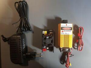 Testa Laser da 15W 15000mW Blu Laser Modulo per CNC