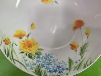 Imperial China W Dalton Just Spring Serving Bowl Orange Yellow Blue Floral L5011