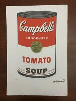 """ANDY WARHOL Original Numbered Litho Poster 15x22,5"""" Mickey Mouse Castelli NY"""