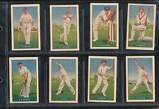 1938 Hoadleys Test Cricketers Set  Don Bradman Mint 36 Cards Cricket 1930s r