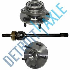 Dodge Ram Left 1500 1994-1999 U JOINT  Axle + 2  Wheel Hub Bearing Assembly 4X4