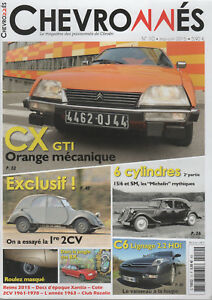 CHEVRONNES 10 CITROEN 2CV A 1939 TRACTION 15/6 SM C6 2.2 HDi LIGNAGE CX 2400 GTI