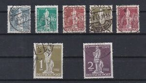 Berlin 1949 Weltpostverein UPU Stephan Gestempelt € 320,-- Mi. Nr. 35 - 41