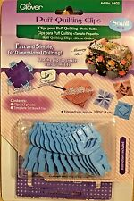 Clover Puff Quilting Clips Small 8402