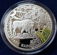 """MDS MALAWI 20 KWACHA 2011 PP / PROOF """"BISON"""", SILBER"""