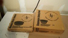 Pampered Chef Family Heritage Collection Stoneware Bowl Roaster & Deep Dish Bake