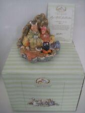 ROYAL DOULTON BRAMBLY HEDGE A CHEERFUL BLAZE FIGURINE ORNAMENT DBH 60 BOX & CERT